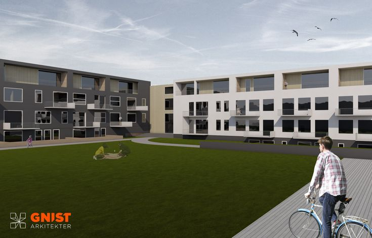 Fauske Skole - GNIST Arkitekter  Renovating an old school to become a residential building. Housing project.  #architecture #renovation #housing #project