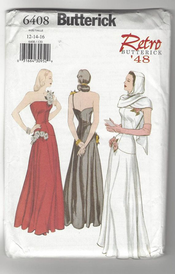 Butterick Retro '48 Misses Dress and Hooded by intoSEWmanythings