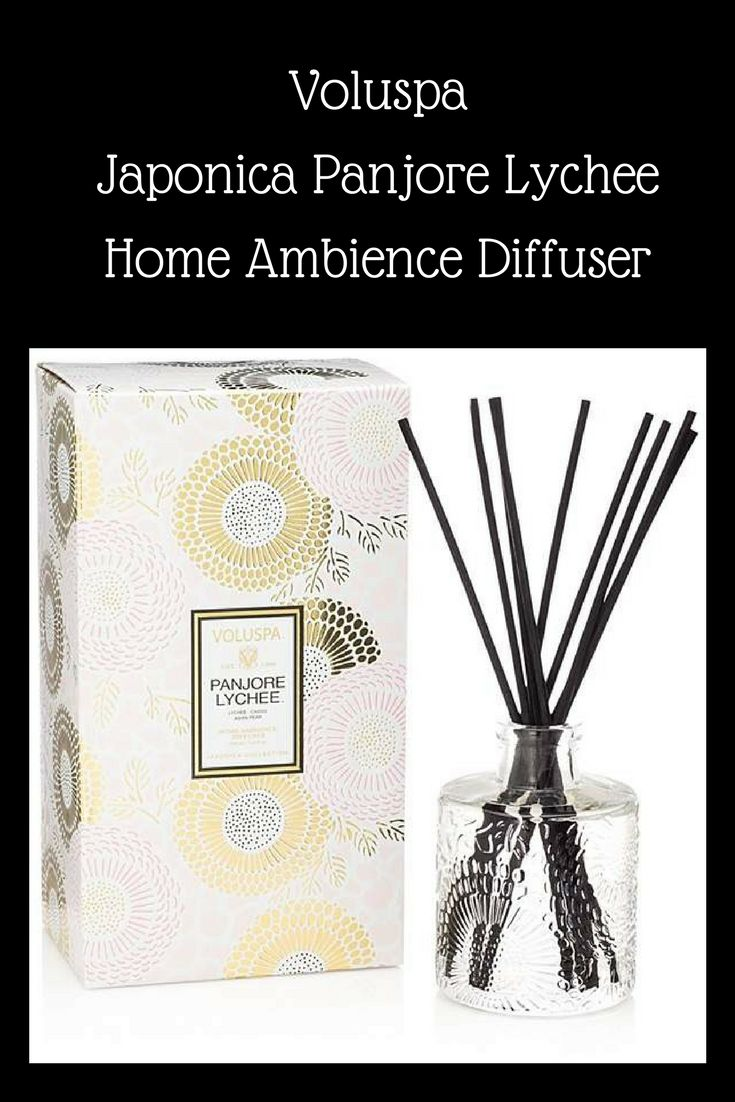 Welcome Guest! This is Voluspa Japonica Panjore Lychee Home Ambience Diffuser.  You can put this diffuser anywhere in your home to add a sweet scent to that area.  Diffusers also make a great gift for any occasion. For more information click on the image. #diffuser#ad