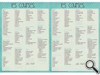 17 best images about menus de la semaine on pinterest turquoise menu planning printable and. Black Bedroom Furniture Sets. Home Design Ideas