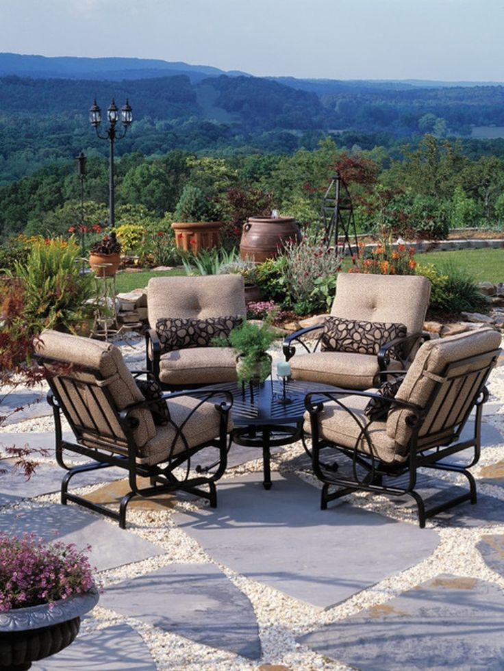 Delightful 22 Awesome Outdoor Patio Furniture Options And Ideas