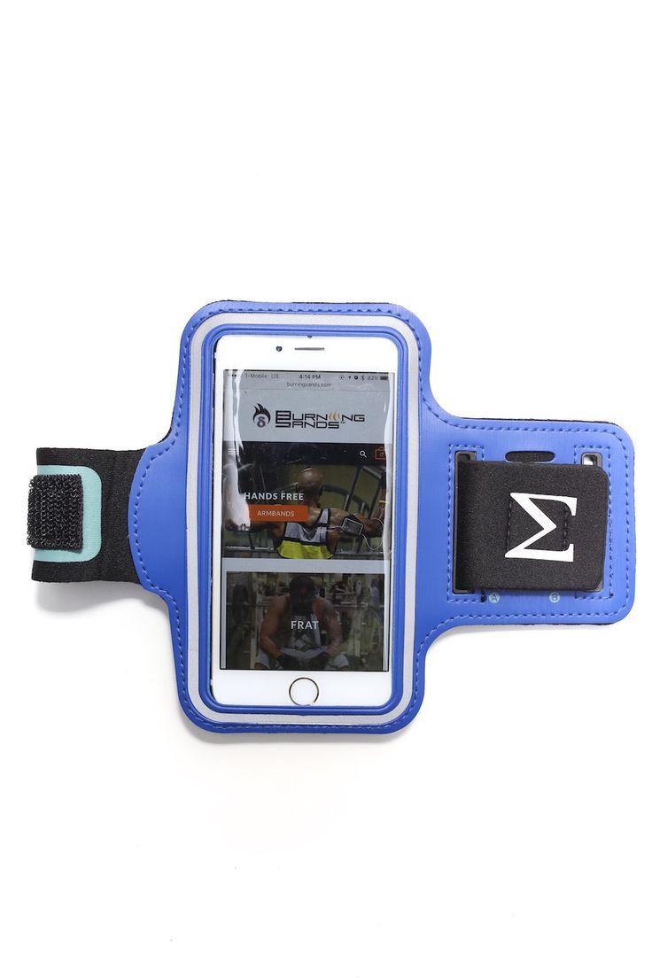 Road Tripper Σ smartphone armband case, blue