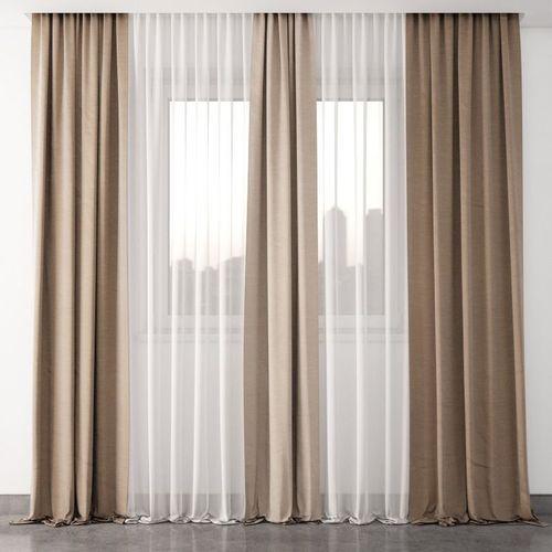 curtain 2 3d model max obj mtl 1