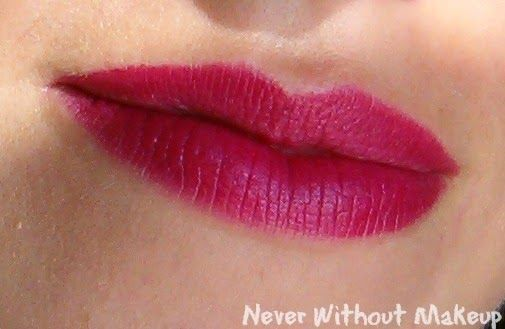 @pupamilano  - I'm Rossetto Colore Puro, L.E. Paris Experience n.002 Berry Violet http://neverwithoutmakeup.blogspot.it/2014/10/review-pupa-im-rossetto-colore-puro-le.html