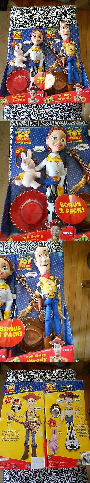 Toy Story 19223: Disney Pixar Toy Story And Beyond Pull String Woody And Jessie Dolls 2 Pack Nib -> BUY IT NOW ONLY: $79 on eBay!