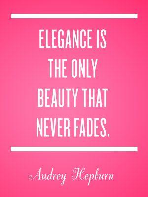 exude elegance