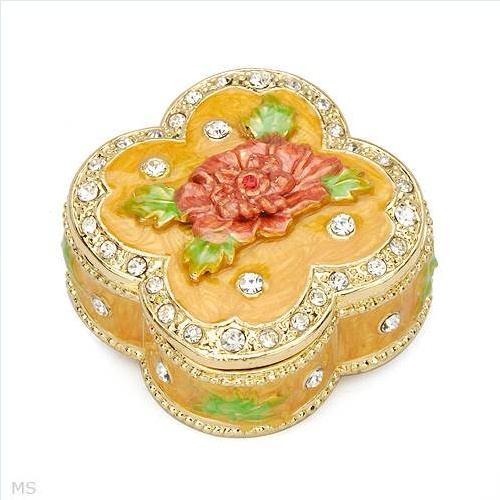 $15.00  Wonderful Accessories with Stal Made of Yellow Base metal and Multicolor Enamel 1.8in