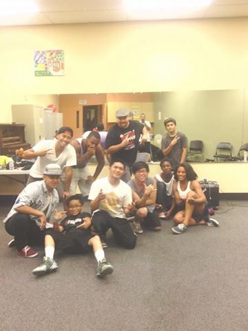 At Teen Center Stockton 97