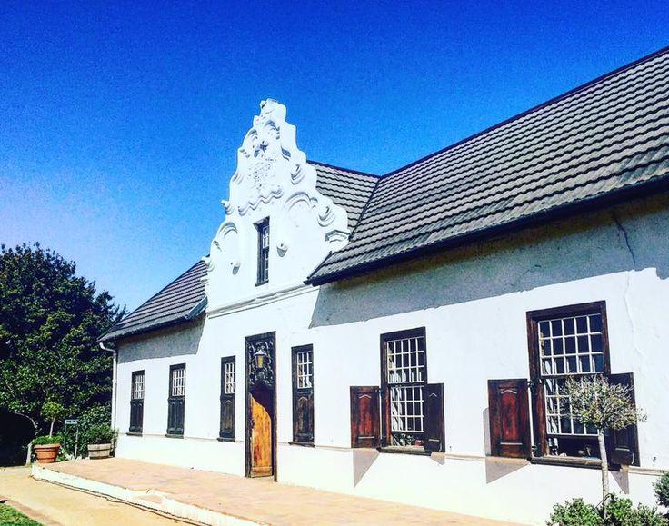 Manor House at Hazendal Wine Estate, Heritage, Wine Farm, Stellenbosch