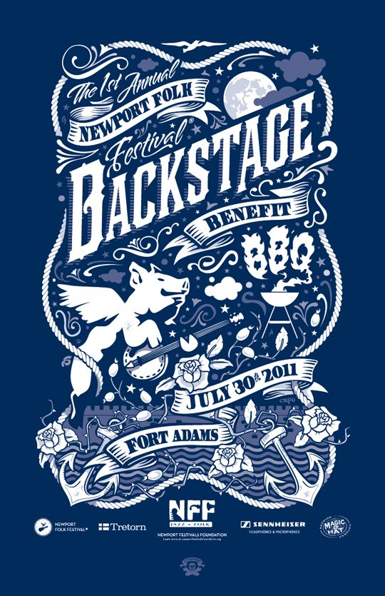 backstage poster  Designed by Chris Capotosto