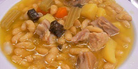 Receta de la Olleta de Guadalest, una variante de nuestra tradicional Olleta.