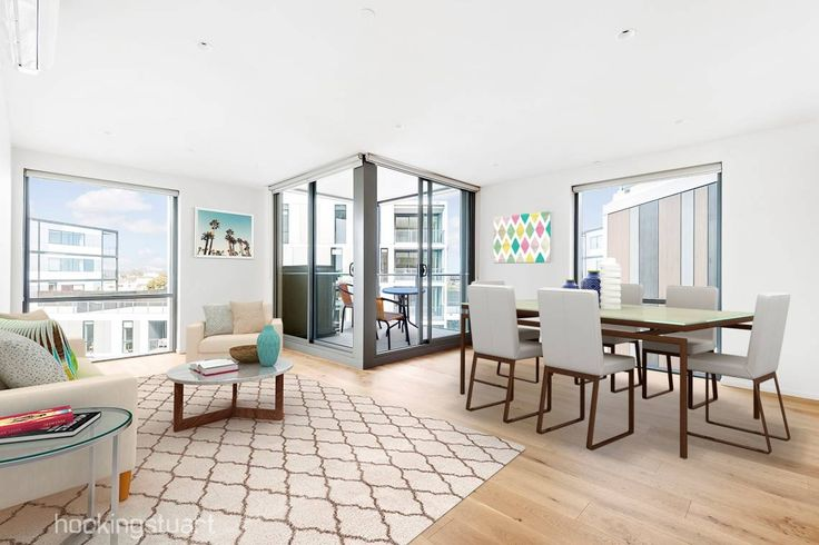 503/8C Evergreen Mews, Armadale  Love these open spaces!