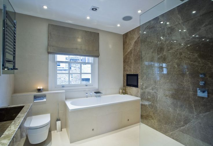 Bathroom in a south kensington townhouse by sophie for Townhouse bathroom ideas