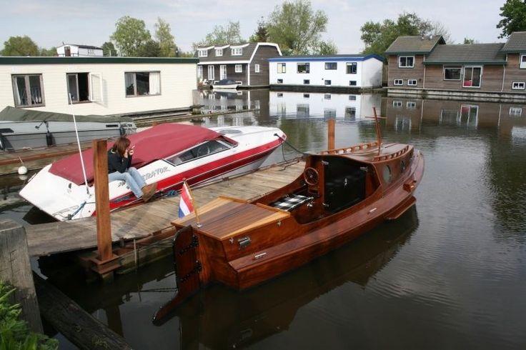 Zaanse Koo-Boot Schaluppe Selten Klassische  Kajütboot * Sehr schön *