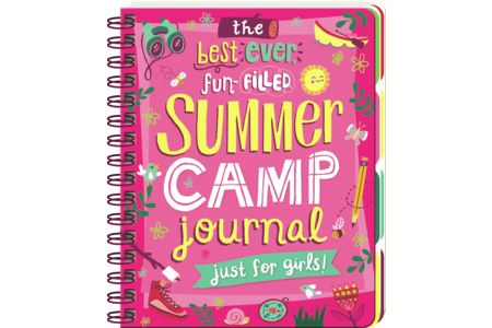 The Best Ever, Fun-FIlled, Summer Camp Journal - Just for Girls! Are YOU ready for the best ever, fun-filled summer? Take this journal with you to camp and make sure you don't forget a thing! This journal has sections to write about your cabin, daily camp life, fun and games, quotes, postcards to send home, the friends you make and your favorite memories. 130 page guided journal with 8 tab sections. #68841722 | $15.95