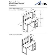 Dartmouth Desk - Overstock™ Shopping - Great Deals on Altra Desks