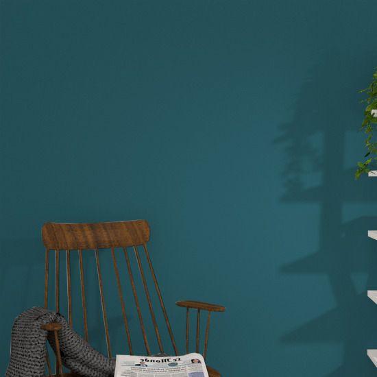 Peinture Multi-support SAPHYR Alkyde bleu paon Satiné 2,5L