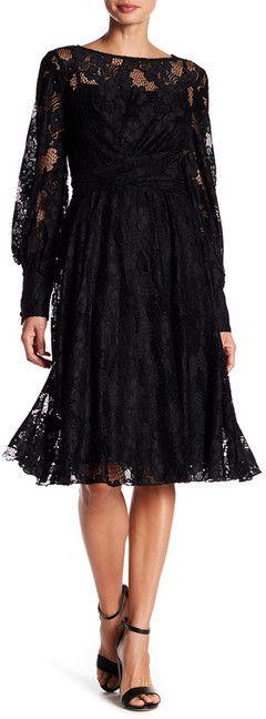 Eva Franco Carlotta Lace Knit Dress