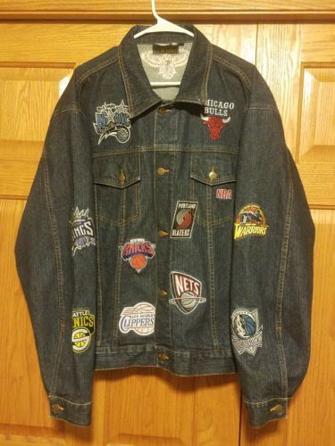 Supreme x Nike x NBA Teams Warm Up Denim Jacket vintage nba embroidered  denim (eBay Link) d21fd4727