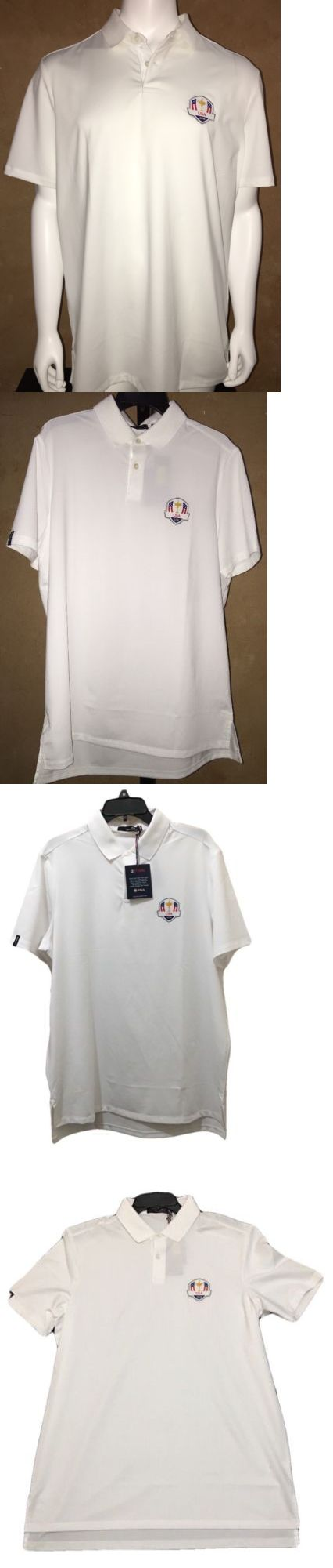 Shirts Tops and Sweaters 181138: Nwt 2016 Ryder Cup Team Polo Ralph Lauren Rlx Men Shirt Size Large Color White -> BUY IT NOW ONLY: $39.0 on eBay!