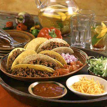 Classic Ground Beef Tacos - FamilyCircle.com