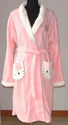 ~~ Hello Kitty Baby Pink Bath Robe ~~ Free @ http://www.listia.com/auction/8190422