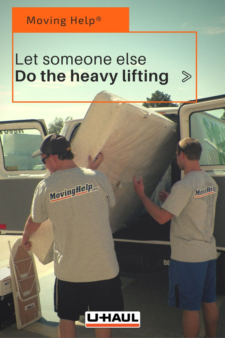 Let someone else do the heavy lifting for you. By hiring  Moving Help® you can cut your move time in half! Move easier and in less time with safe, convenient and reliable local movers. Moving Helpers® also know how to maximize space by packing more efficiently. Your items will be packed safer and in a way that allows you to fit the most items in your truck, trailer or van. I Planning for a Move