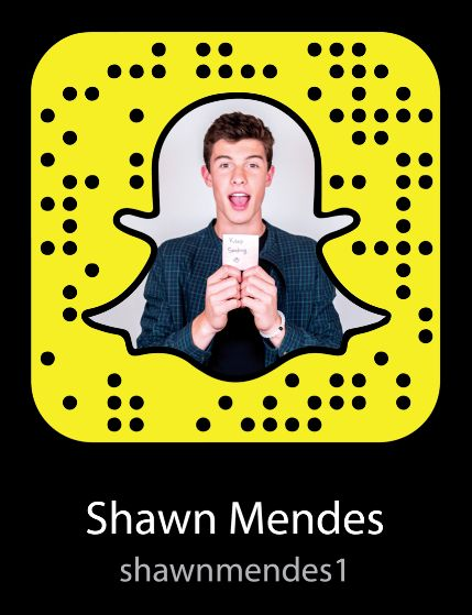 Shawn Mendes Snapchat Username & Snapcode #ShawnMendes #snapchat http://gazettereview.com/2017/01/shawn-mendes-snapchat-username-snapcode/