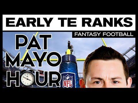 2017 Fantasy Football: Early TE Rankings, Sleepers & Debate