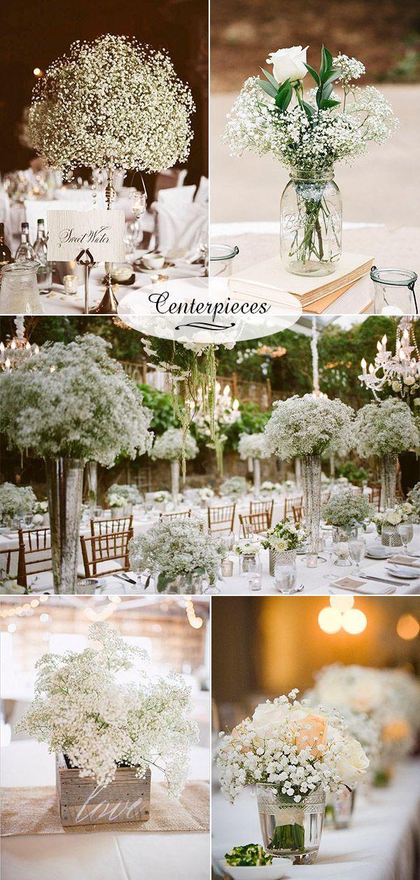 Wedding Flowers 40 Ideas To Use Baby S Breath Wedding