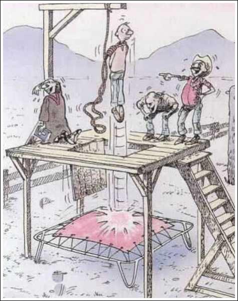Execution-caricature