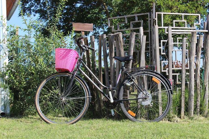 Bike in the camp