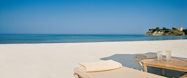 best beach hotels in Greece Sani resort