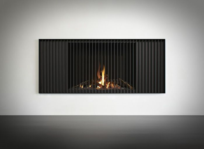 Strips fireplace by Piet Boon for Tulp.