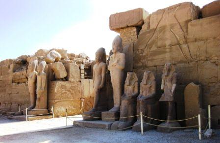 Templo de Luxor, construção do Egito antigo