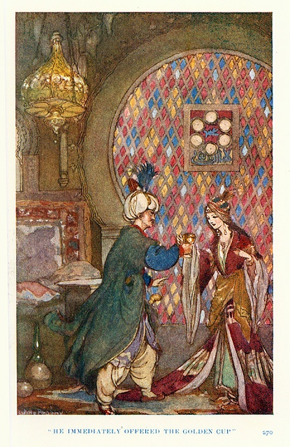 """Folk Tales from Many Lands"" illustrated by Willy Pogany:"