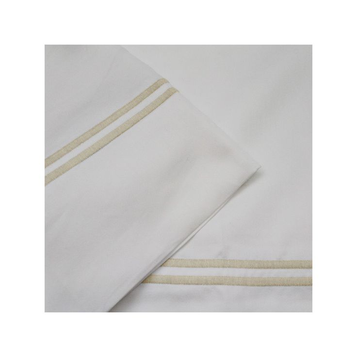 1000 Thread Count 4-piece Sheet Set, White Cal King