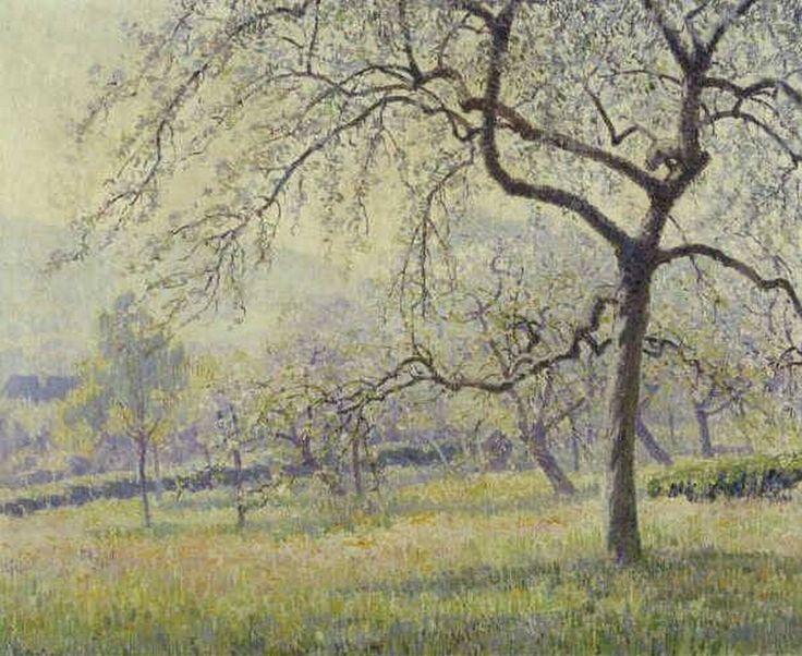 #LesXX Rodolphe Paul Marie Wytsman (Belgian, 1860–1927), Voorjaar, circa 1900-1920, olieverf op doek, 60,5x73,5cm, Museum Boijmans Van Beuningen, Netherlands.