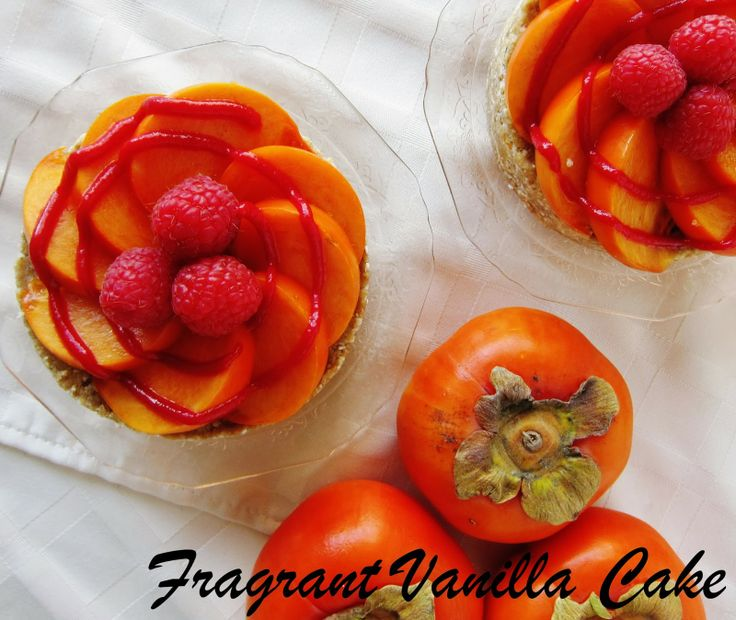 Persimmon Cake Using Cake Mix