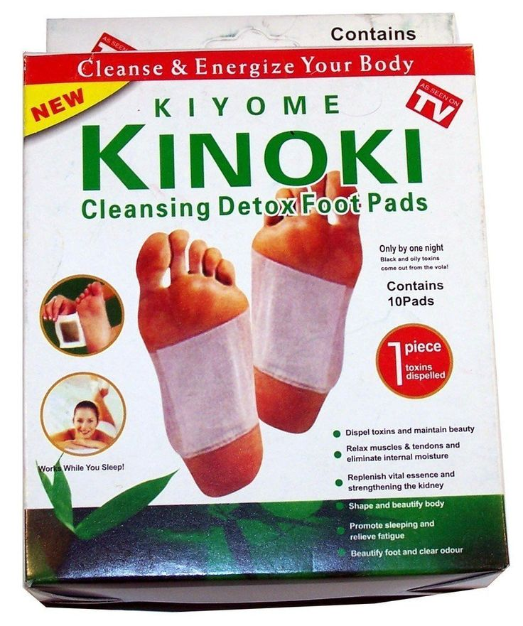 40 Kinoki Foot Pads Fußpflaster Pflaster Vitalpflaster Neu DETOX Wellness Entgiftung Entschlackung: Amazon.de: Küche & Haushalt