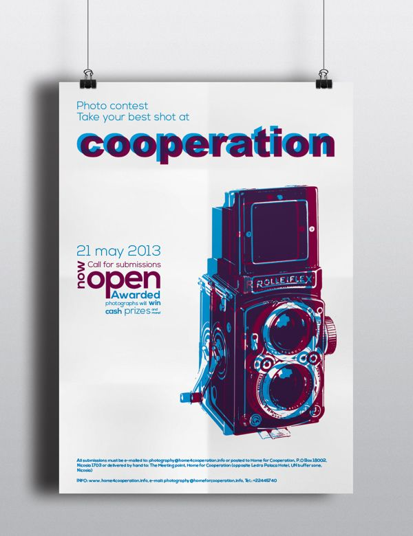 Photography competition poster by Gra-fistiki Creative studio , via Behance