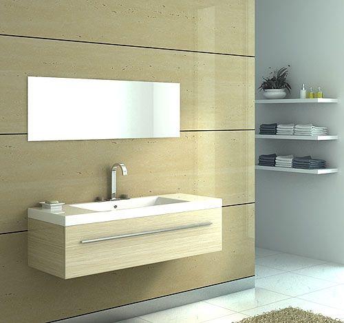 moderne badmoebel artesi hochglanz holz. Black Bedroom Furniture Sets. Home Design Ideas