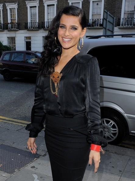 Nelly Furtado wearing Folli Follie Touch Bracelet