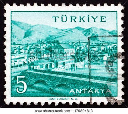 Turkey Stamp 1958 - Antakya