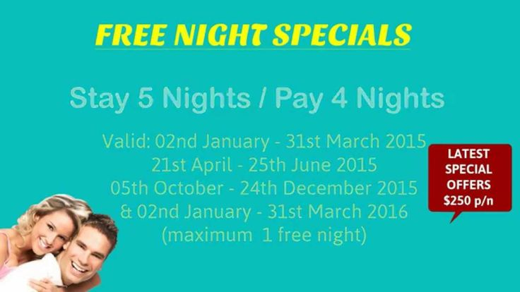 Free night specials on  Cayman Villas Port Douglas