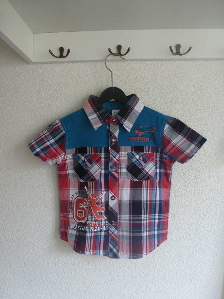 Geruite blouse (blauw/rood)