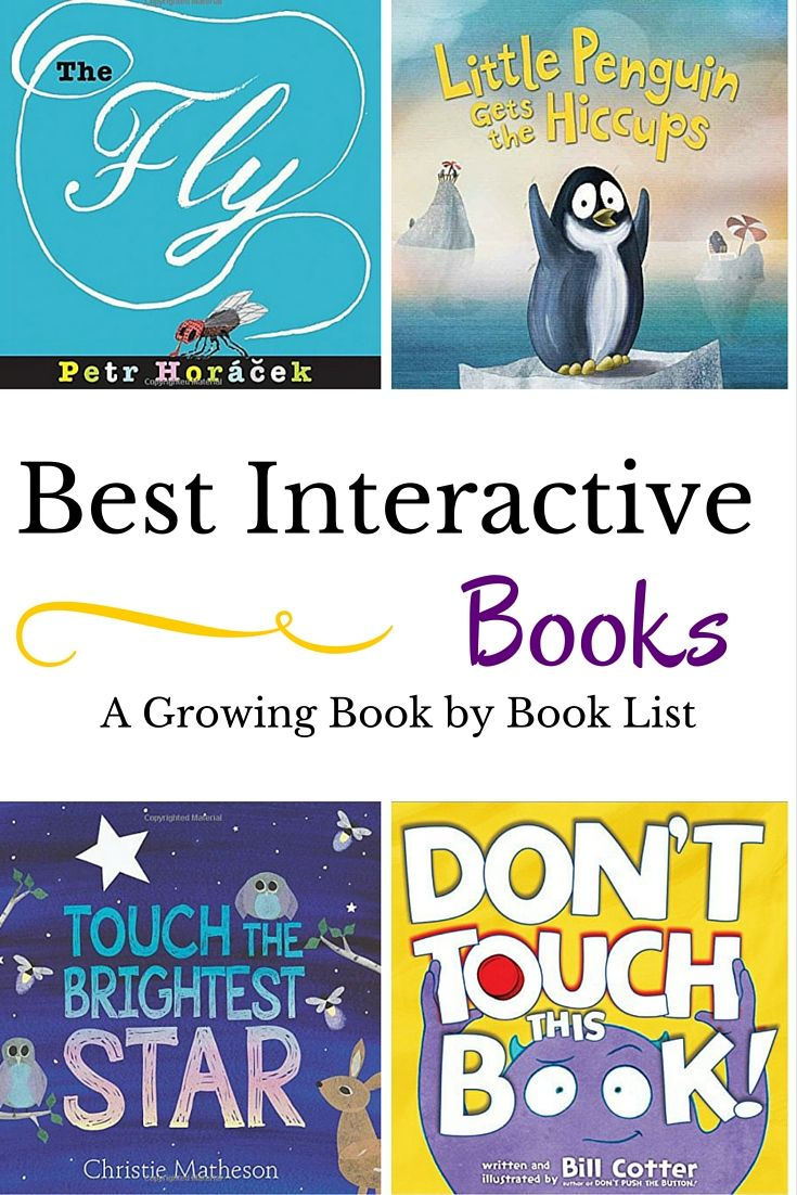 The best interactive books for kids just got some great new additions to the list. Check out some of the newest and best books for kids.