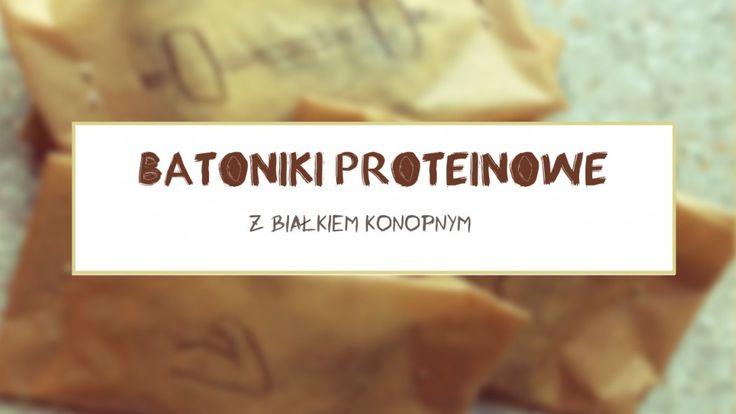 Batoniki proteinowe z białkiem konopnym - Miejsko Wiejsko