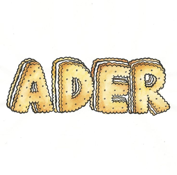 Visual art with food #adererror #wit #graphic #illustration www.adererror.com