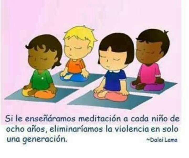 Resultado de imagen de frase niños mindfulness